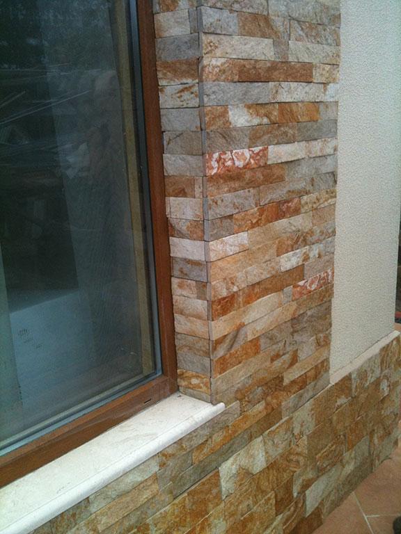 Облицовка натуральным камнем фасадов, цоколей